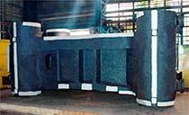 Отливка 'Траверса подвижная', весом 163,5 т, изготовлена ПАО 'Энергомашспецсталь' в марте 2006 года