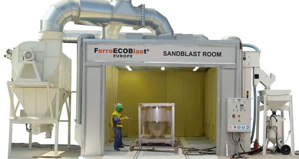 Дробеметная камера FerroECOblast