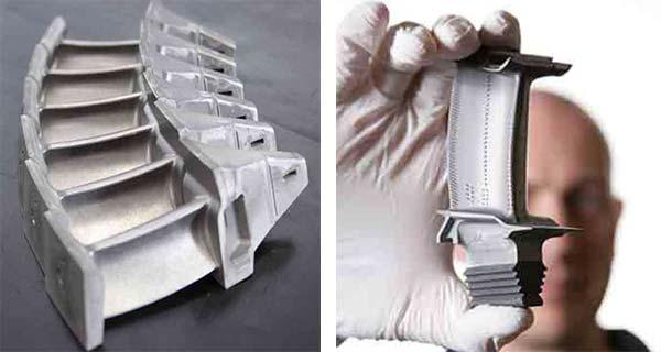 Турбинные лопатки Rolls-Royce