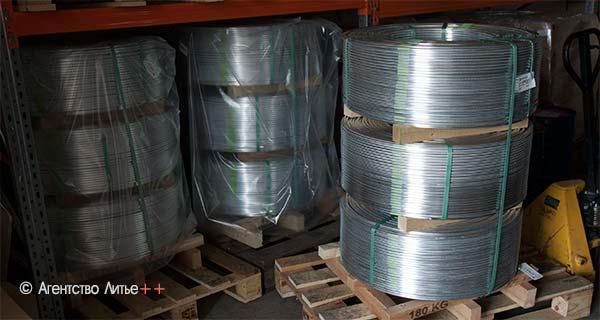 Лигатура алюминий-титан-бор AlTiB