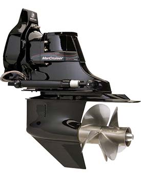Двигатель с кормовым приводом MerCruiser