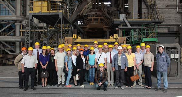 Участники V Международной конференции литейщиков