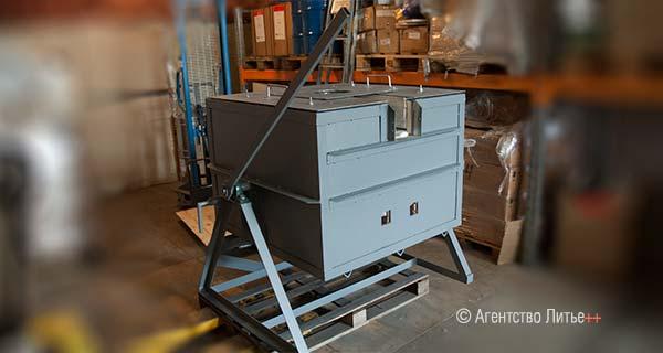 Печь электросопротивления мод. ETF-A80
