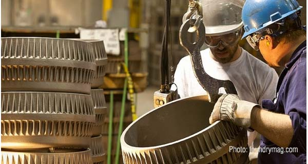 Производство литья на Waupaca Foundry