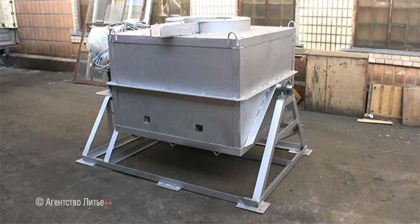 Печь электросоротивления мод. ETF-BU350