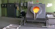 Электрическая поворотная плавильная тигельная печь сопротивления мод. ETF-BU350, производитель: ООО 'Инженерная компания САС'