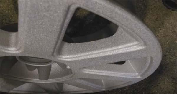 Поверхность очищенного диска