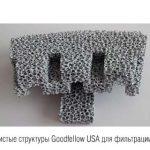 Керамические пены для фильтрации сплавов