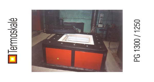 Электрическая шахтная печь PG 1300 / 1250