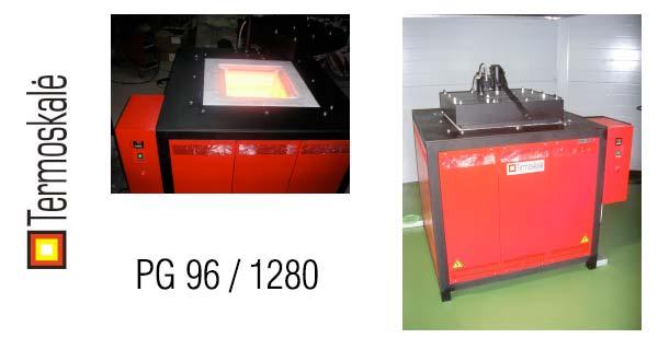Шахтная печь PG 96 / 1280