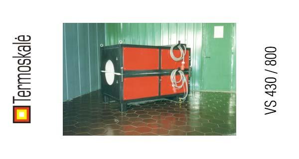 Электрическая печь сопротивления VS 430 / 800