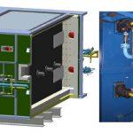 Печь газовая с рекуперативными высокоскоростными горелками