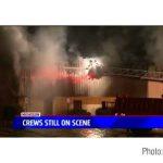 Пожар уничтожил литейный завод Muskegon Castings
