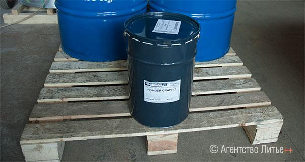 Водорастворимая графитосодержащая дисперсия для литья и ковки SA-0508