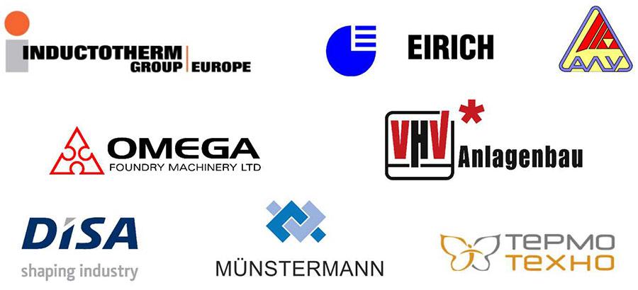 Спонсоры международной конференции Литье-2017
