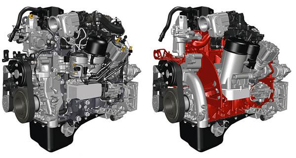 Двигатель DTI 5 (Euro 6) стандартный и для 3D-печати