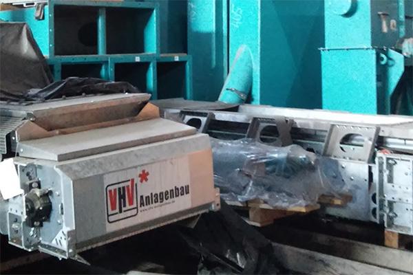 Монтаж оборудования компании VHV Anlagenbau GmbH, Германия