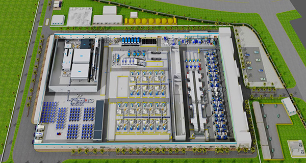 Планировка завода в Pune, INDIA