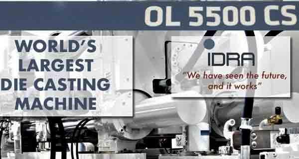 Машина литья под давлением IDRA OL 5500 CS