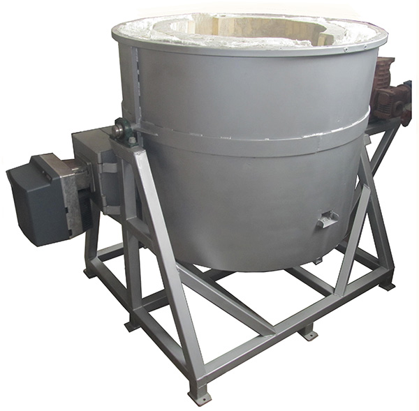 Поворотная жидкотопливная печь LFTF-500