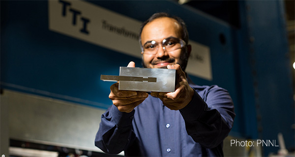 Технология PNNL сочленения алюминия со сталью