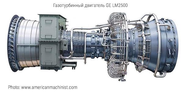 Газотурбинный двигатель GE LM2500