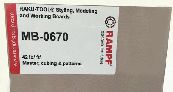 Полиуретановые плиты для моделей RAKU‐TOOL® MB‐0670