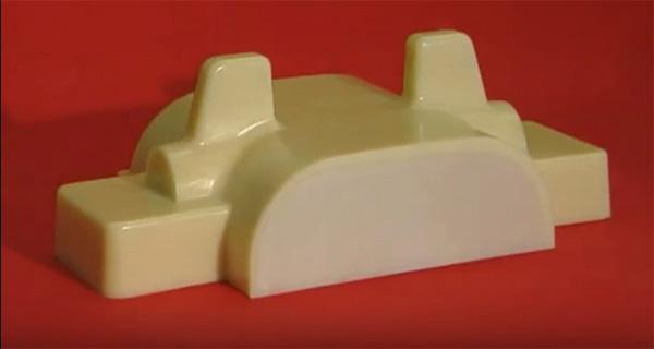 Модель, изготовленная лицевой заливкой PC-3451