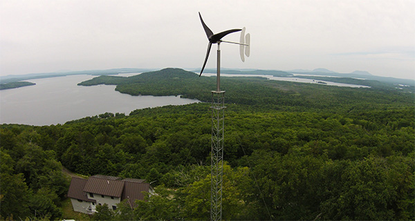 Ветровая турбина Pika Energy T701 мощностью 1,7 кВт