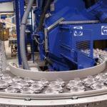 LBS 1000 новая дробеметная машина с сетчатым транспортером