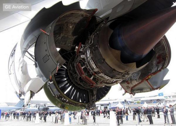 GEnx - турбовентиляторный двигатель