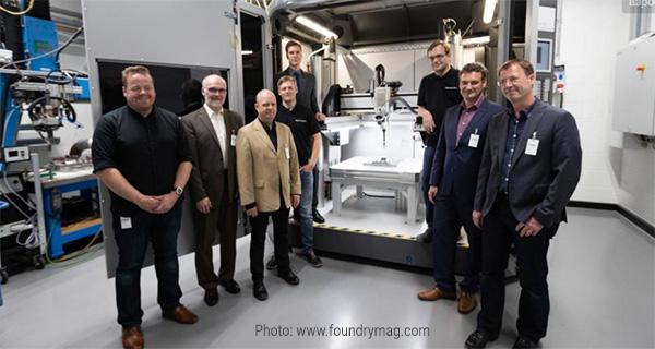 Команда Airbus, Gefertec и BIAS с 3D-машиной arc403