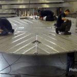 Подвесная платформа EZ Lift для кирпичных работ