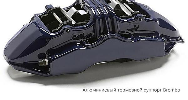 Алюминиевый тормозной суппорт Brembo