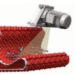 Компактная система непрерывной дробеметной обработки невольших филигранных отливок