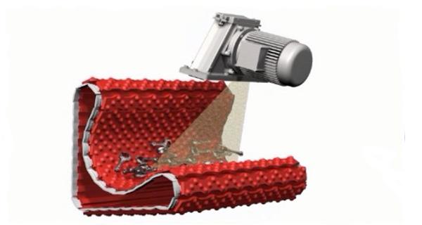 Компактная система дробеметной очистки THM 300/1