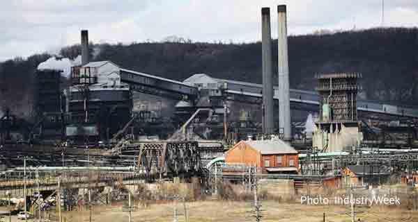 Американский металлургический завод в Клэртоне