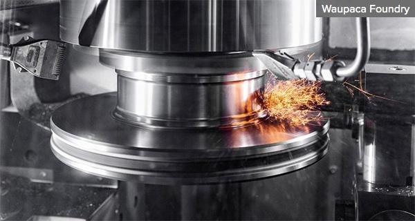 Мехобработка тормозных дисков на Waupaca Foundry
