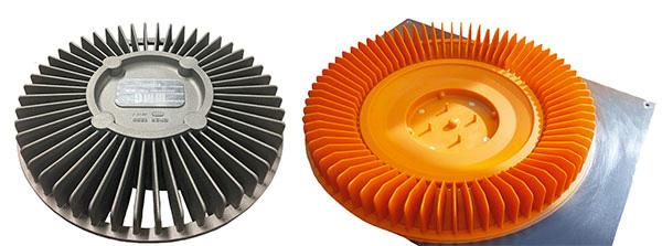 Подмодельная плита для изготовления корпуса вентилятора