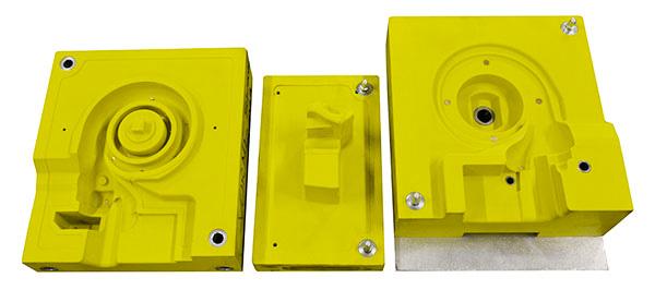 Трехкомпонентный стержень из RAKU® TOOL WB-1404, используемый для изготовления корпуса турбины