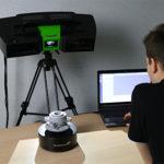 Новый промышленный стерео сканер MICRON3D green