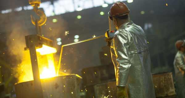 Разливка металла