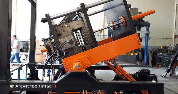 Новая кокильная установка SA-Foundry