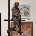 Литые скульптуры на выставке «Украина от Триполья до современности»