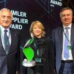 Brembo стала лауреатом премии Daimler Supplier Award 2019
