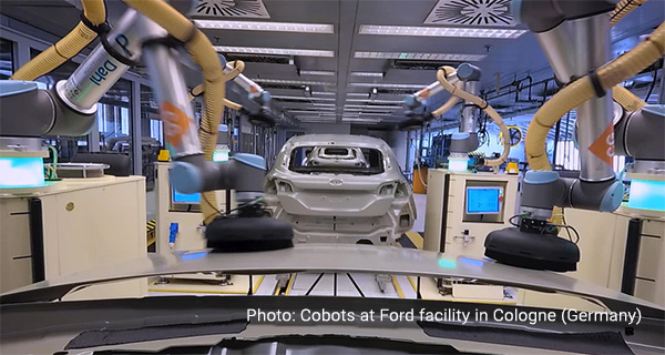 Cobots at Ford