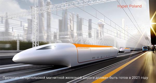 Скоростной поезд Hyper Poland