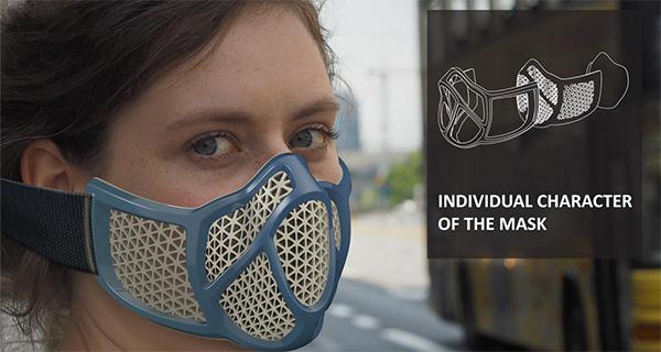 Индивидуальная маска против смога
