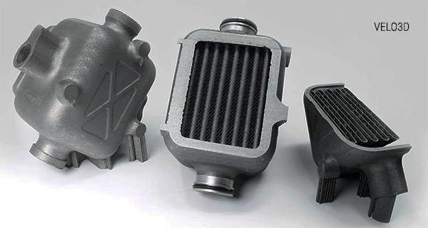Компоненты с 3D-печатью VELO3D