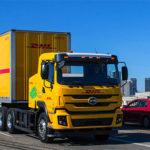 DHL запускает в США электрические тягачи с прицепами